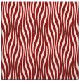 rug #1015441 | square red stripes rug