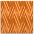 rug #1015453 | square red-orange animal rug