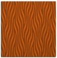 rug #1015457 | square red-orange stripes rug