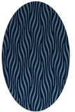 rug #1015584 | oval stripes rug