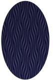 rug #1015637   oval blue-violet animal rug