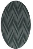 rug #1015681   oval green animal rug