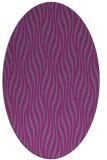 rug #1015713 | oval stripes rug