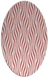 rug #1015780 | oval stripes rug