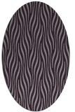 rug #1015793 | oval purple animal rug