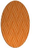 rug #1015817 | oval animal rug