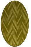 rug #1015881   oval light-green animal rug