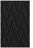 rug #1015921 |  black stripes rug