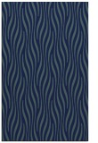 rug #1015953 |  blue stripes rug