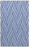 rug #1015961 |  blue stripes rug