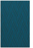 rug #1015981 |  blue animal rug