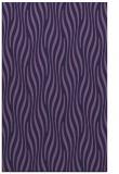 rug #1016013 |  blue-violet stripes rug