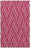 rug #1016033    red stripes rug