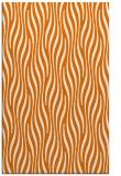 rug #1016117 |  orange stripes rug