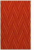 rug #1016165 |  orange stripes rug