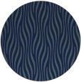 rug #1016317 | round blue animal rug
