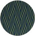rug #1016321 | round blue stripes rug