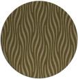 rug #1016393 | round mid-brown stripes rug