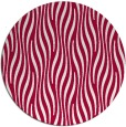 rug #1016397 | round red stripes rug