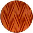 rug #1016477 | round orange stripes rug