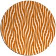 rug #1016481 | round orange animal rug