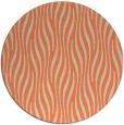 rug #1016485 | round beige animal rug