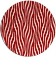 rug #1016525 | round red animal rug