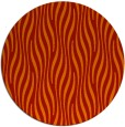 rug #1016529 | round red animal rug