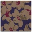rug #101653   square blue-violet natural rug