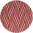 rug #1016533 | round red animal rug