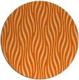 rug #1016545   round red-orange animal rug