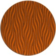 rug #1016549   round red-orange stripes rug