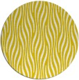 rug #1016597   round yellow animal rug