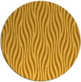 rug #1016601 | round light-orange animal rug