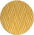 rug #1016625 | round light-orange animal rug