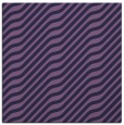 rug #1017105 | square purple stripes rug