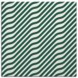 rug #1017141 | square blue-green animal rug