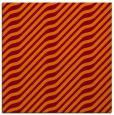 rug #1017205 | square orange animal rug