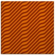 rug #1017269 | square red-orange stripes rug