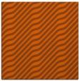 rug #1017277 | square red-orange stripes rug