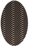 rug #1017381   oval beige animal rug