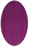 rug #1017407 | oval animal rug