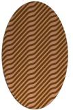 rug #1017516 | oval animal rug