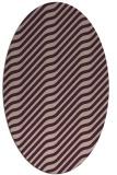 rug #1017530   oval stripes rug