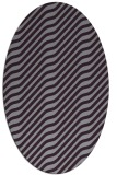 rug #1017613   oval stripes rug