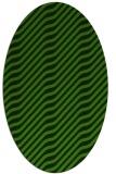 rug #1017649   oval light-green rug