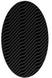 rug #1017655   oval stripes rug