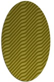 rug #1017701 | oval light-green rug