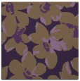rug #101777 | square mid-brown rug