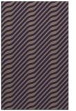 rug #1017841 |  blue-violet stripes rug